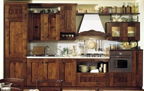 Ideas For Country Style Kitchen Cabinets Desig 21354 Country Style Kitchen Furniture