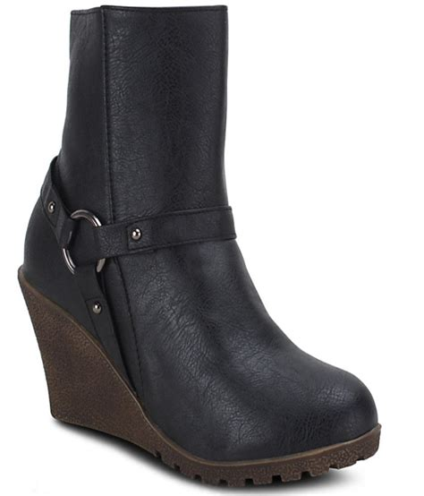 Wedges Boot 1 get glamr black wedges boots price in india buy get glamr black wedges boots at snapdeal