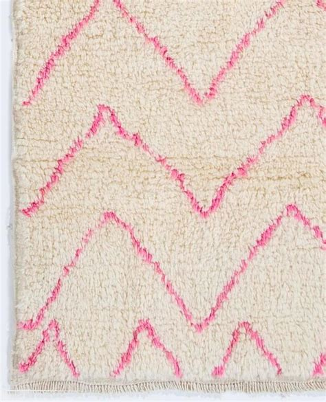 pink moroccan rug contemporary moroccan wool rug in pink and colors for sale at 1stdibs