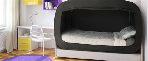 bed tents for privacy pop bed tent xl black ebay
