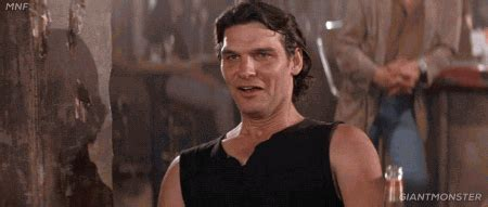 road house movie terrible gif find share on giphy