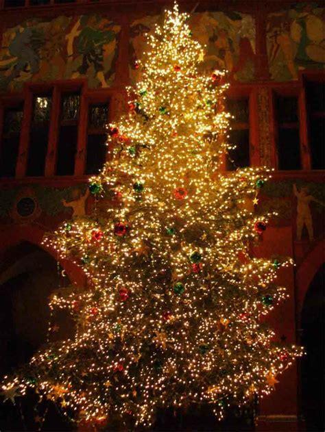 weihnachtsbaum mit beleuchtung  unikale fotos