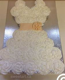 25 best ideas about wedding dress cupcakes on