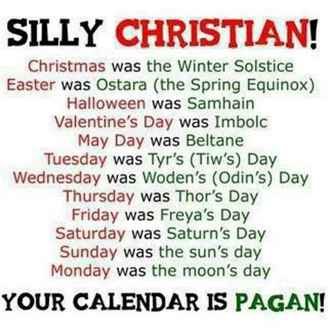why is christianity beholden to babylonian holidays of