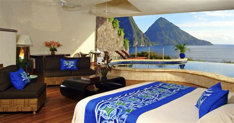 room with a view st hotel review jade mountain st lucia the luxury travel expert