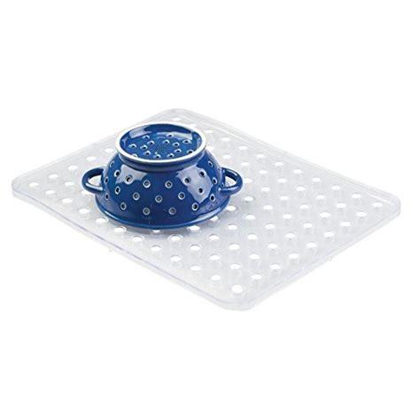 clear plastic sink mats interdesign sink mat large clear