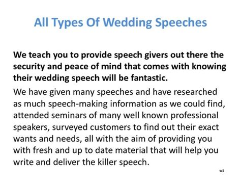 fast help how to write a wedding speech best