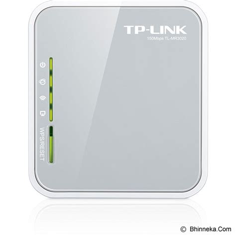 Router Wifi Bhinneka jual tp link 3g wireless n router tl mr3020 murah bhinneka