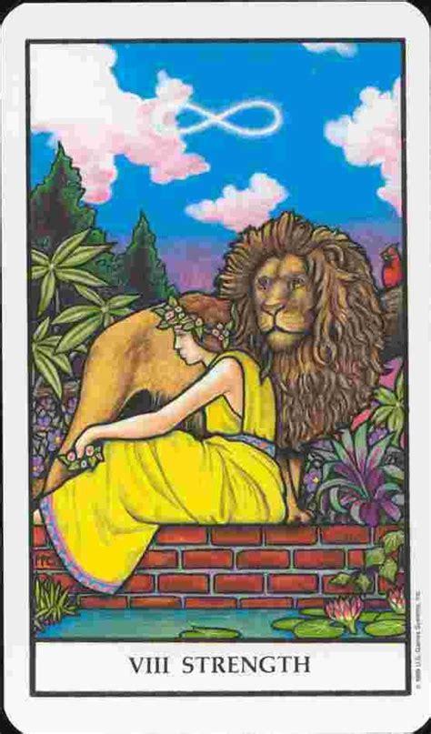 Tarot 8 Strength strength card 8 tarot card meaning readtarot