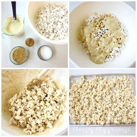 How To Make Popcorn Out Of Paper - popcorn peanut butter popcorn and chocolate
