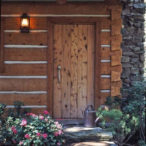 rustic front doors for homes hanna s cozy log cabin in montana coldwell banker