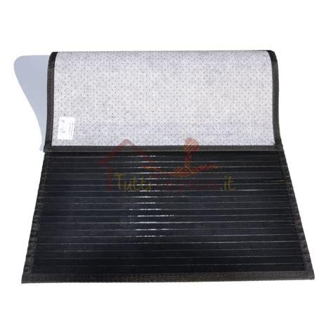 bamboo liscio tappeto passatoia cm 60x300