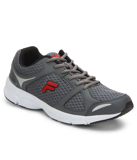 Fila Grey fila gospel gray sports shoes price in india buy fila