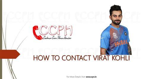Residence Phone Number Lookup Virat Kohli Contact Details Residence Address Phone Number Email Id