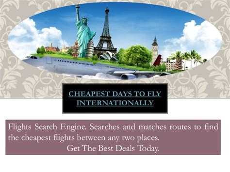 Search For Internationally What Is The Cheapest Day To Fly Internationally