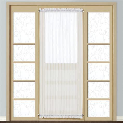 sheer panels for doors monte carlo sheer voile door panel