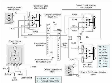 electric window troubleshooting in power window switch