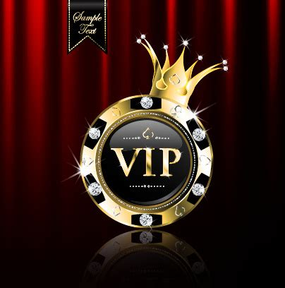 Luxury diamond vip royal background vector Free vector in