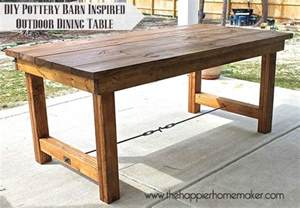white happier homemaker farmhouse table diy projects