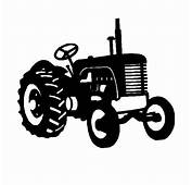 Metal Tractor Silhouettes