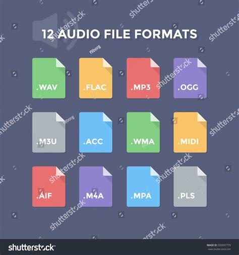 audio format file extensions audio file types top audio