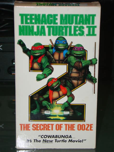 The Secret Of Ooze 60ml vhs mutant turtles ii the secret of the