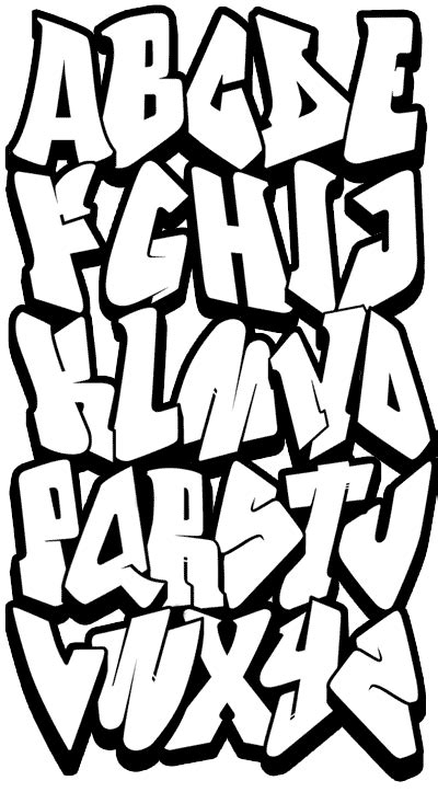 easy printable fonts cool graffiti alphabet z easy pictures pinteres