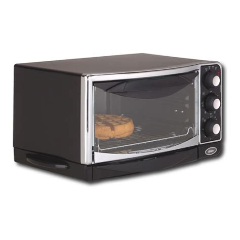 Chrome Toaster Oven Oster 6290 6 Slice Electric Black Chrome Toaster Oven Ebay