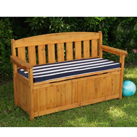 outdoor wooden bench with storage tips finding a good outdoor bench storage for your garden