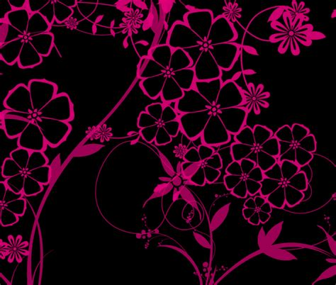 pink and black wallpapers wallpapersafari