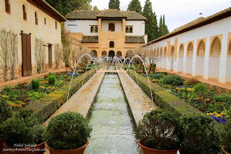 Granada Gardens by Grand Granada Spain Journey Around The Globe