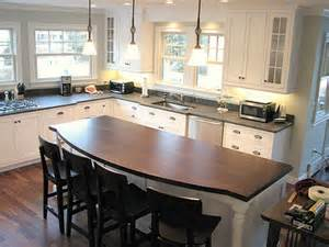 How Much Overhang For Kitchen Island Kitchen Island Design Cape Island Kitchens