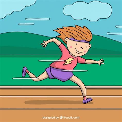 imagenes niños corriendo fondo de ni 241 o corriendo descargar vectores gratis