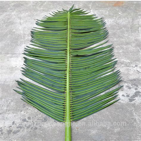 q072602 wholesale artificial palm tree branches and leaves