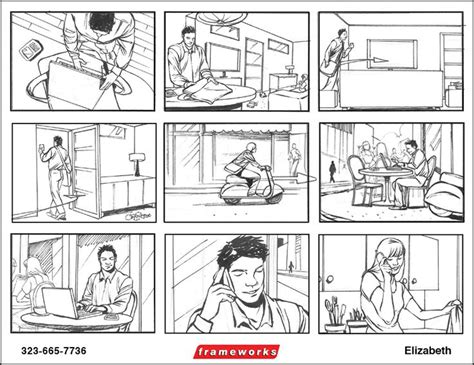 70 Best Ux Storyboard Images On Pinterest Storyboard Service Design And Design Process Ux Storyboard Template