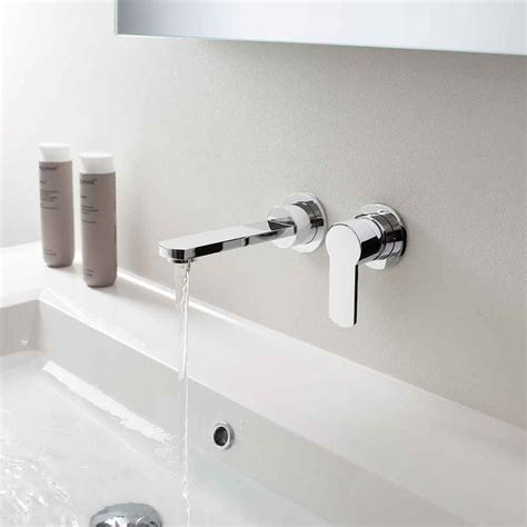 Bath Mixer Tap With Shower Attachment crosswater wisp wall mounted basin mixer tap wp120wnc