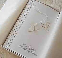wedding day card for and in 2 handmade wedding day card two handmade hearts in