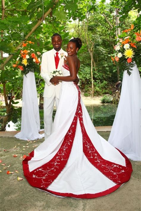 Wedding Dresses Jamaica by Jamaica Wedding With A Spectacular Dress Caribbean