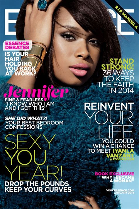 Hudson On The Cover Of Magazine hudson on the cover of essence magazine january