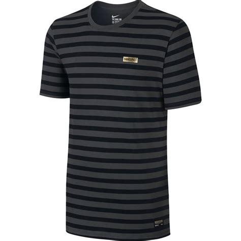 Stripes Shirt B L F nike f c t shirt stripe anthracite black www