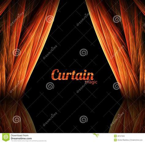 magic curtain magic curtain royalty free stock photo image 28127845