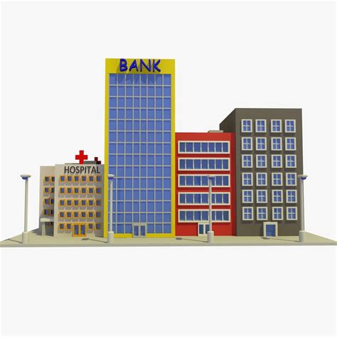residential building design and 3d animation youtube 3d cartoon street 1 buildings