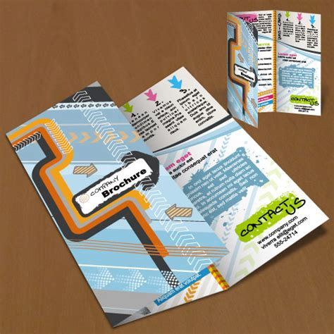 how to layout a brochure in illustrator premium tutorial how to create a brochure in illustrator