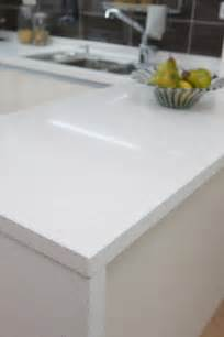 White Kitchen Countertops White Quartz Kitchen Countertop Kitchen Reno
