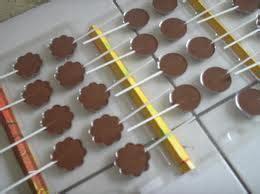 cra membuat warna coklat coklat lolipop bunga resepcoklatku