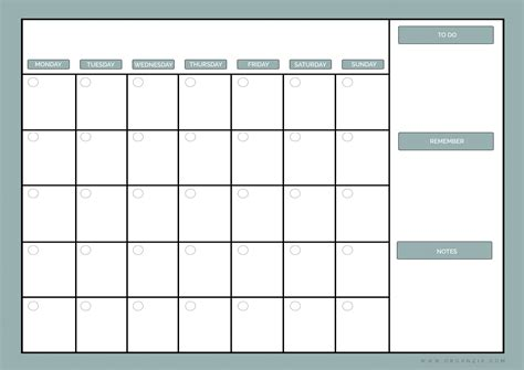 printable planner by month diy monthly planner dry erase calendar free printable