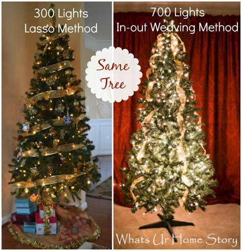 how to hang tree lights seasonal decor