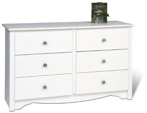 Cheap Drawer Dresser by Gt Cheap Prepac Monterey White Condo Youth Sized 6 Drawer Dresser Shopping In Usa