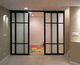 Partition Walls For Home by Sliding Glass Door Room Dividers 2 Inch Frame Black