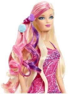 Barbie hairtastic glam hair doll free shipping